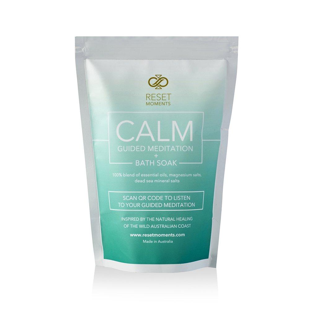 CALM Meditation + Bath SOAK